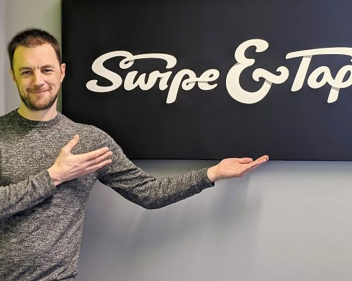 Aaron Wardle from Swipe and Tap Two