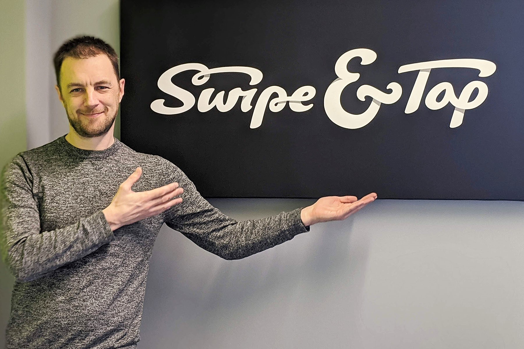 swipe & type