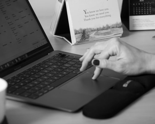Angela is writing a blog post
