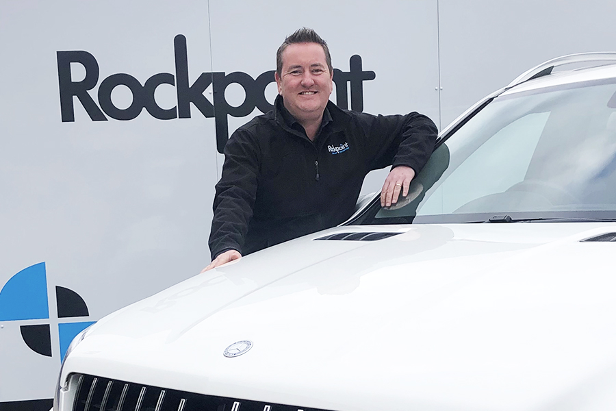 Rockpoint Cars Logo